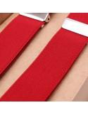 Tirantes Rojo Rubí